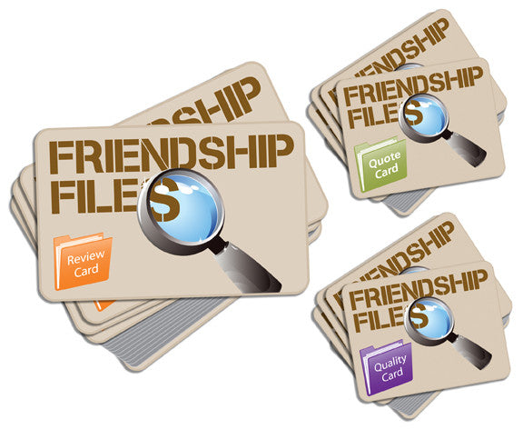 Friendship Files Game Cards