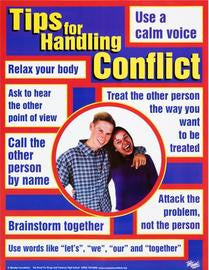 Tips for Handling Conflict Poster