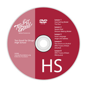Too Good for Drugs High School Media Disc
