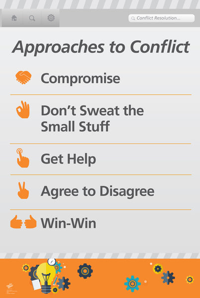 Approaches to Conflict Poster