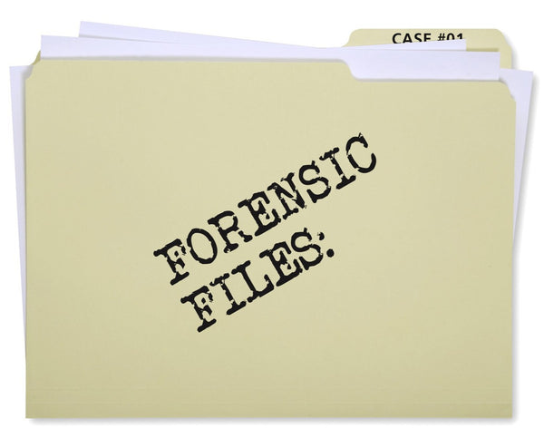 Forensic Files Activity Set