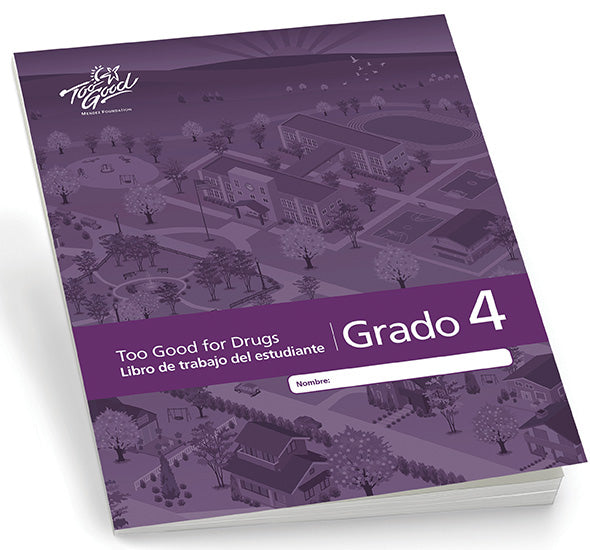 A3480 - TGFD Grade 4 2020 Edition Student Workbook Spanish - Pack of 5