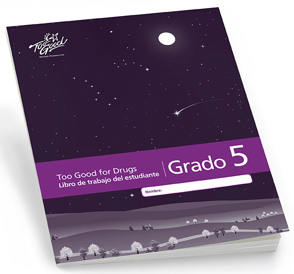 A3580 - TGFD Grade 5 2019 Edition Student Workbook Spanish - Pack of 5