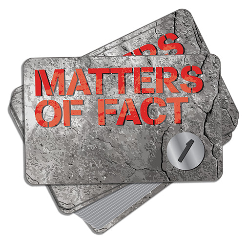 Matters of Fact Game Cards