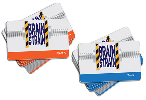 Brain Strain Game Cards