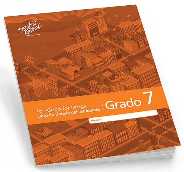 A3780 - TGFD Grade 7 2019 Edition Student Workbook Spanish - Pack of 5