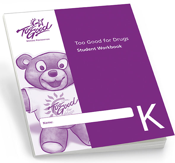 A4025 - TGFD Kindergarten Student Workbook English - Pack of 30