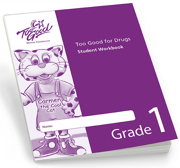 A4125 - TGFD Grade 1 Student Workbook English - Pack of 30