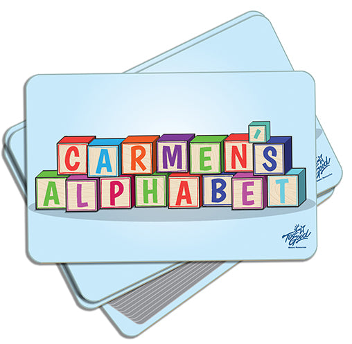 Carmen's Alphabet Activity Cards