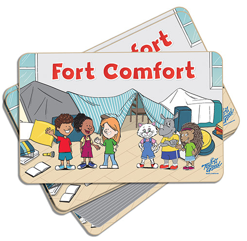 Fort Comfort Game Cards