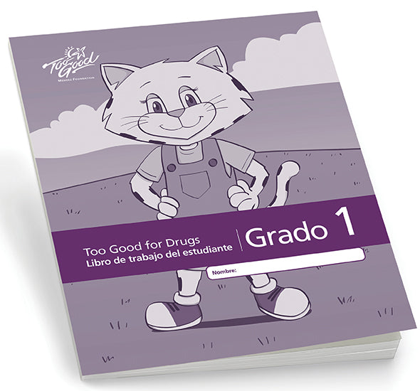 A4180 - TGFD Grade 1 - 2020 Edition Student Workbook Spanish - Pack of 5