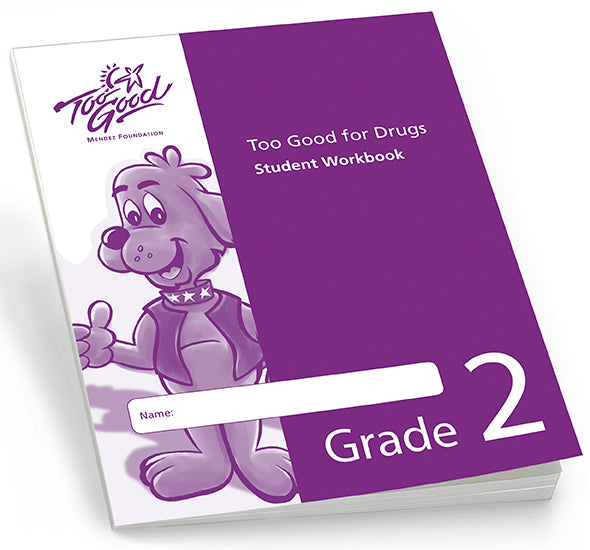 Too Good for Drugs Grade 2 Student Workbook English - Pack of 30
