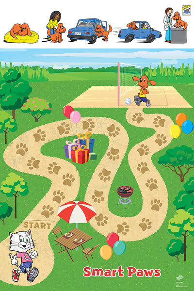 Smart Paws Game Poster