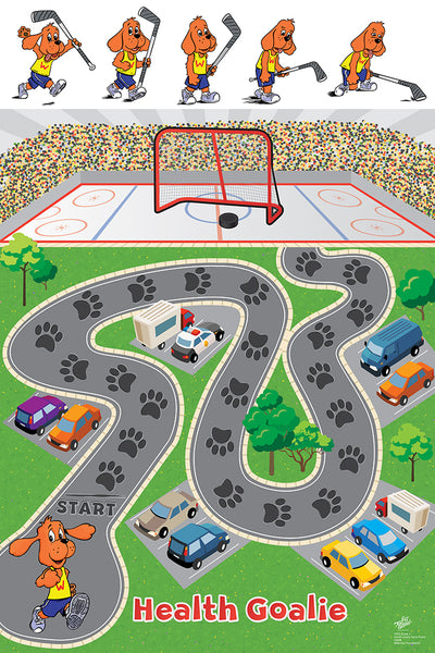 Health Goalie Game Poster