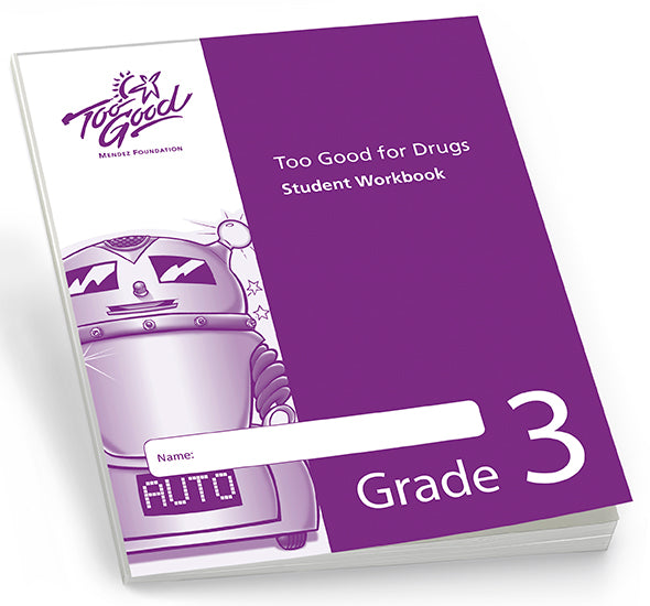 A4325 - TGFD Grade 3 Student Workbook English - Pack of 30