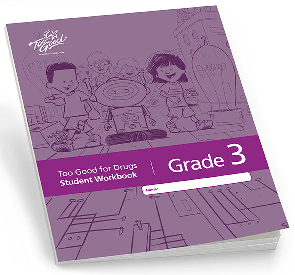 Too Good for Drugs Grade 3 Revised Edition Student Workbook English - Pack of 30