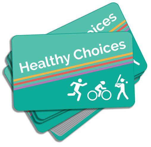 Healthy Choices Activity Cards