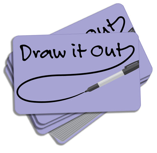 Draw It Out Activity Cards