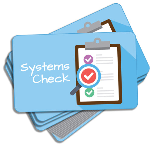 Systems Check Activity Cards