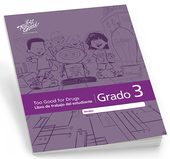 Too Good for Drugs  Grade 3 Revised Edition Student Workbook Spanish Pack of 5