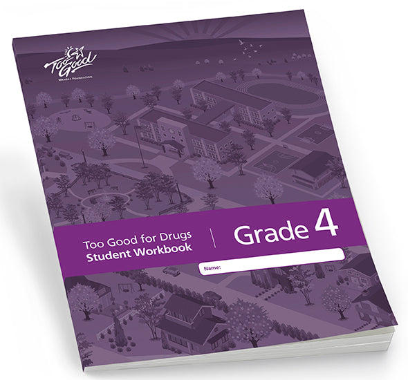 A3430 - TGFD Grade 4 2020 Edition Student Workbook English - Pack of 30