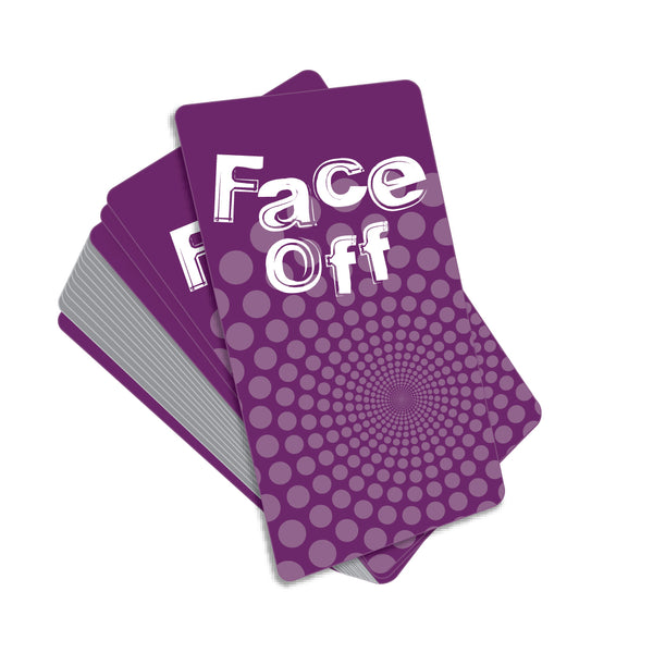 Face Off Game Cards