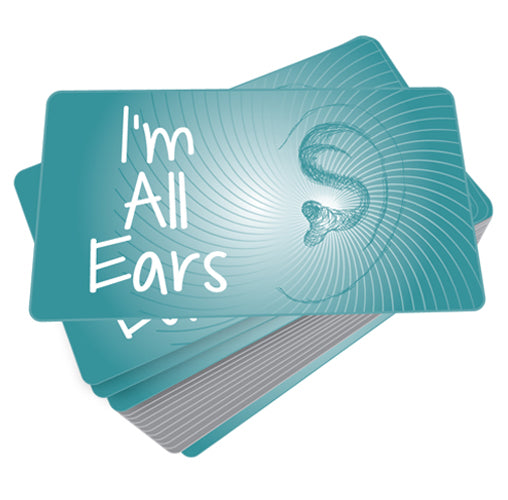 I'm All Ears Game Cards