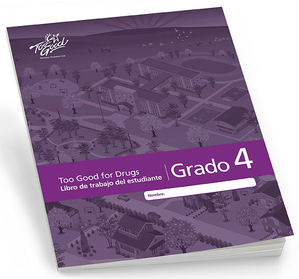 A4480 - TGFD Grade 4 Student Workbook Spanish - Pack of 5