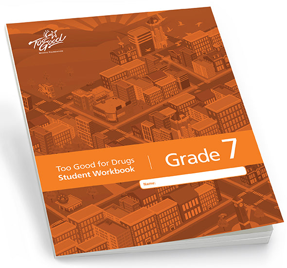 A3730 - TGFD Grade 7 2019 Edition Student Workbook English - Pack of 30