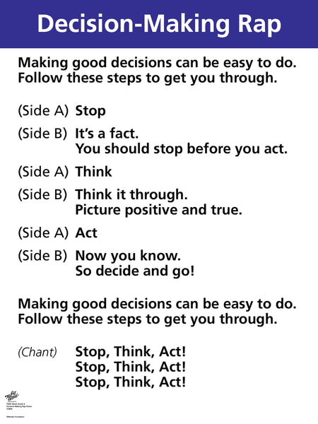 Decision-Making Rap Poster