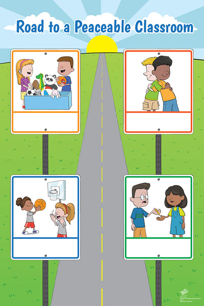 Road to a Peaceable Classroom Poster