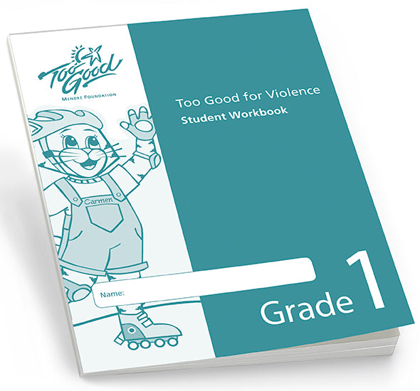 Too Good for Violence Grade 1 Student Workbook - Pack of 30