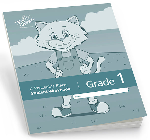 C8235 - TGFV-A Peaceable Place Grade 1 Student Workbook English 2020 Edition- Pack of 30