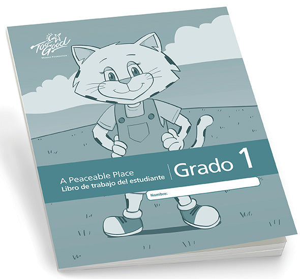 C8180 - TGFV-A Peaceable Place Grade 1 Student Workbook 2020 Edition Spanish - Pack of 5