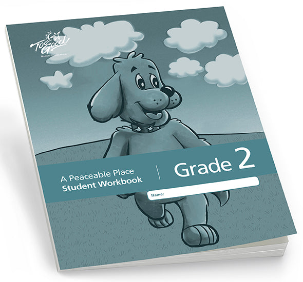 C8235 - TGFV-A Peaceable Place Grade 2 Student Workbook English 2020 Edition- Pack of 30