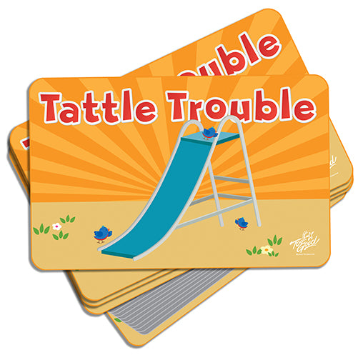 Tattle Trouble Activity Cards