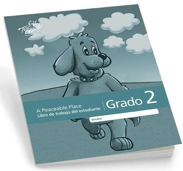 C8280 - TGFV-A Peaceable Place Grade 2 Student Workbook 2020 Edition Spanish - Pack of 5