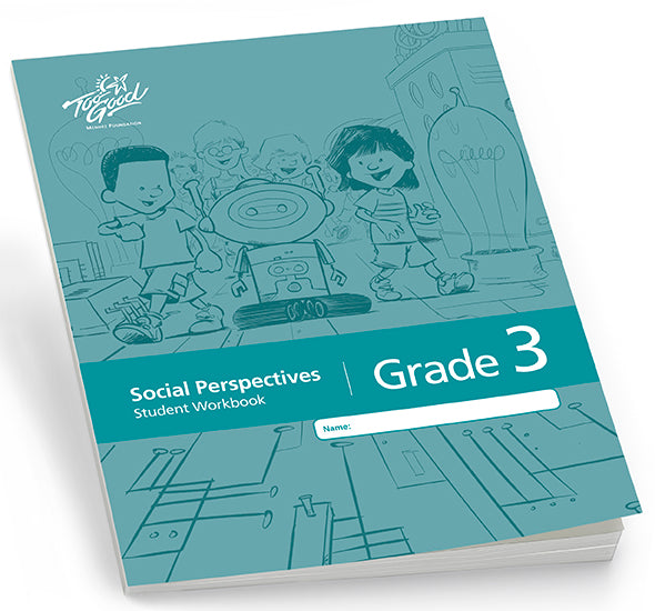 C8335 - TGFV - Social Perspectives Grade 3 Student Workbook English - Pack of 30