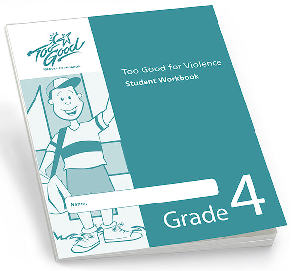 Too Good for Violence Grade 4 Student Workbook - Pack of 25