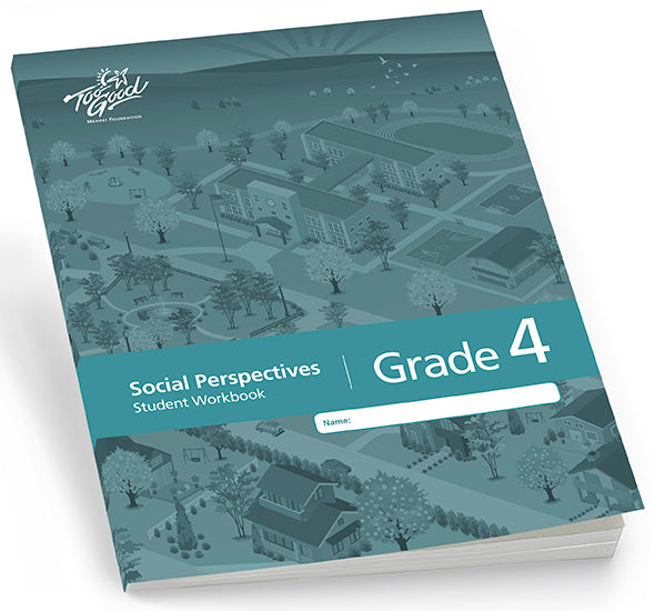 Too Good for Violence - Social Perspectives Grade 4 Student Workbook Pack of 25