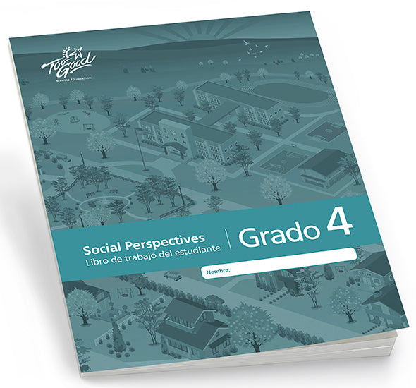 Too Good for Violence - Social Perspectives Grade 4 Student Workbook Spanish Pack of 5