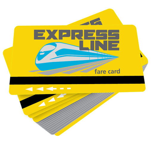 Express Line Game Cards
