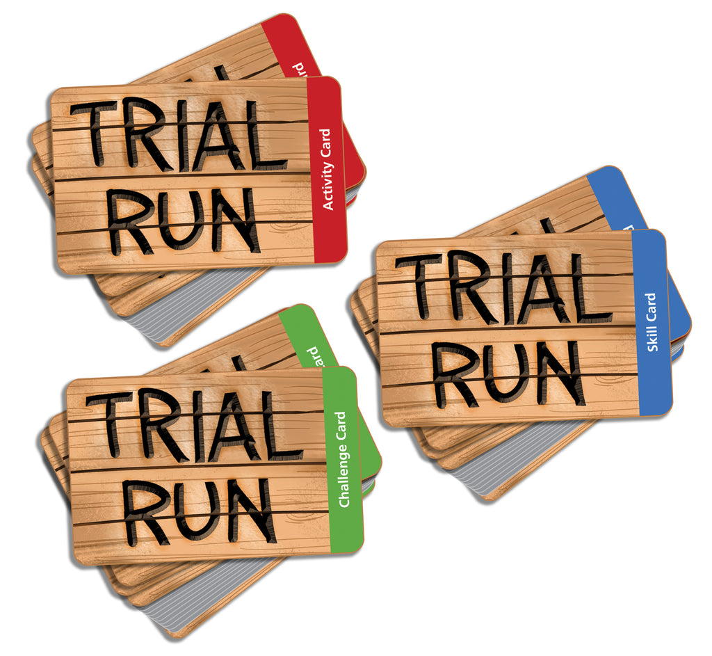 Trial Run Game Cards