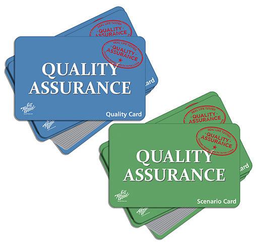 Quality Assurance Card Game