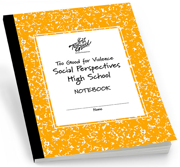 Too Good for Violence - Social Perspectives High School Student Workbook English - Pack of 30
