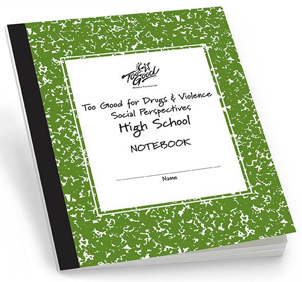 HS4091 Too Good for Drugs & Violence High School Student Workbook English - Pack of 30