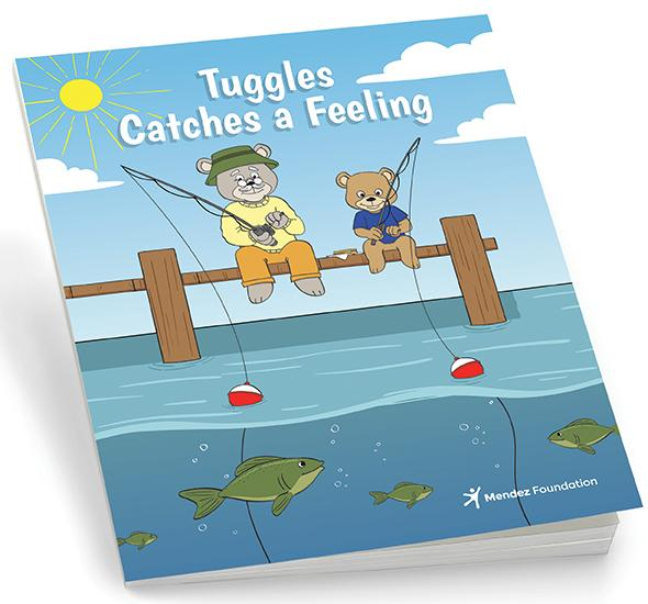 Tuggles Catches a Feeling Original Storybook