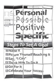 Set of 6 Goal Setting Scramble Puzzle Set