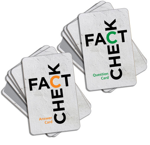 Fact Check Game Cards