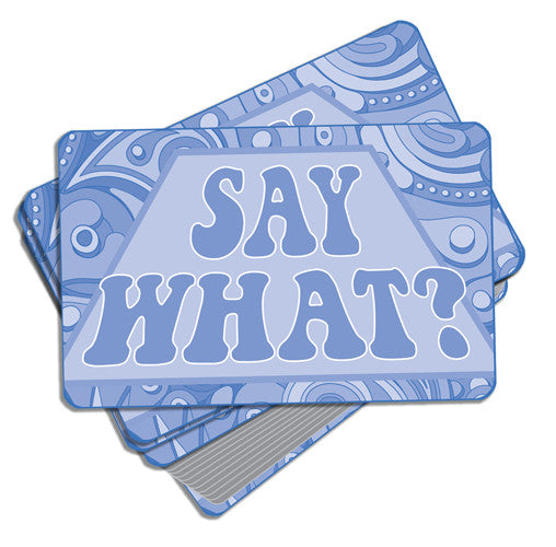 Say What? Card Game